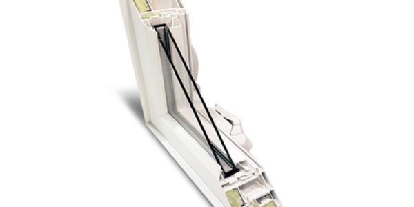 Insulated & Aluminum reinforced window frame