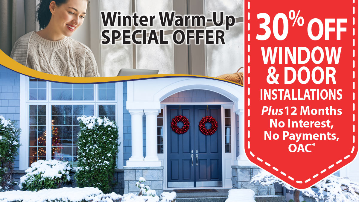 30% Off Window and Door Installations