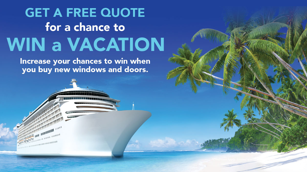 Get a Free Quote for a chance to Win a Vacation!
